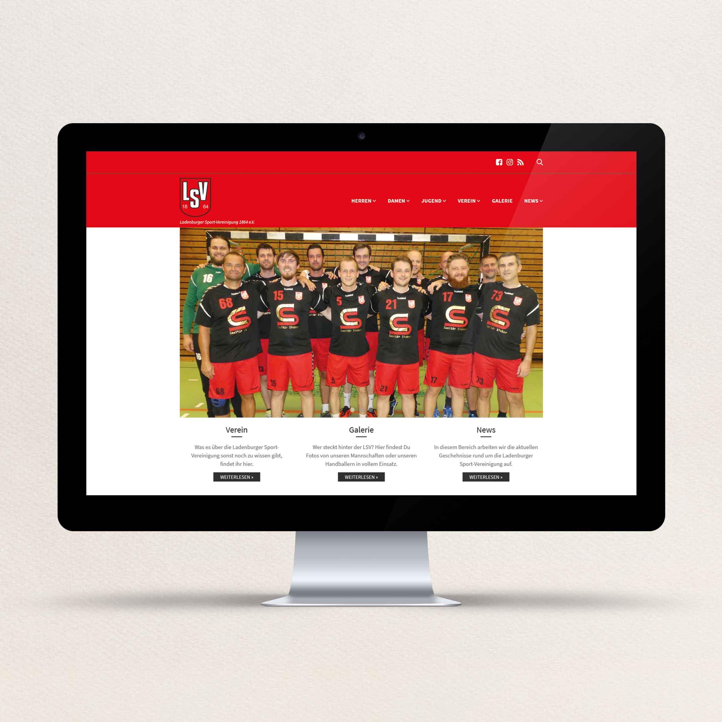 Handball Ladenburg Website
